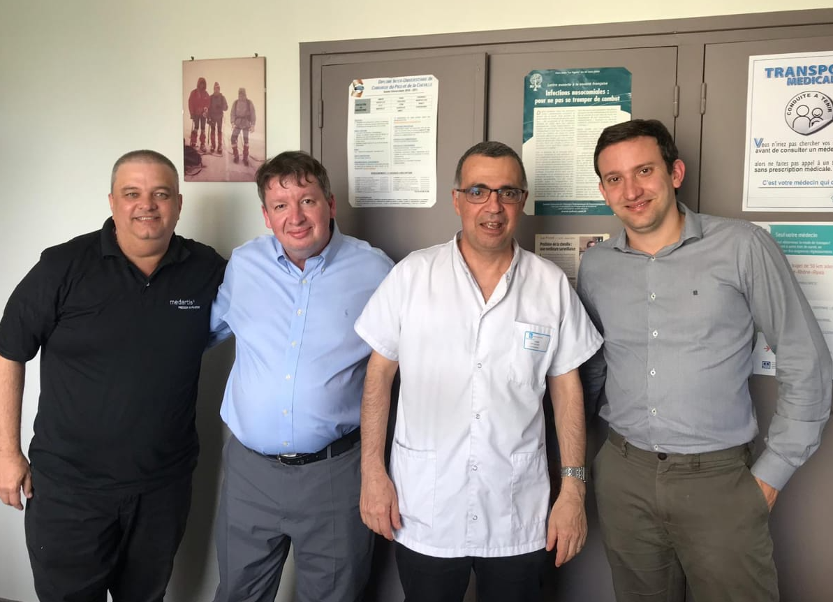 Foot and Ankle Reference Centers 2019 – Application Visitation Lyon.